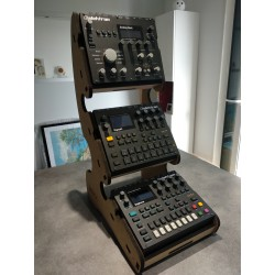 Stand 3 Digitakt Wood